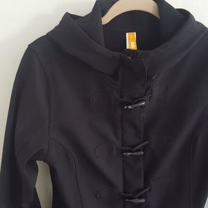 Lucy Toggle Front Hooded Jacket S M